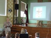 Darba pieredze Latvijas armijā.